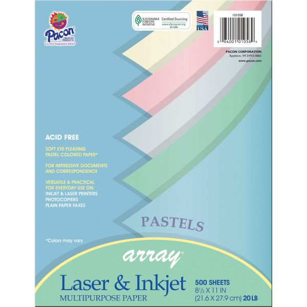 Pacon Array Colored Paper