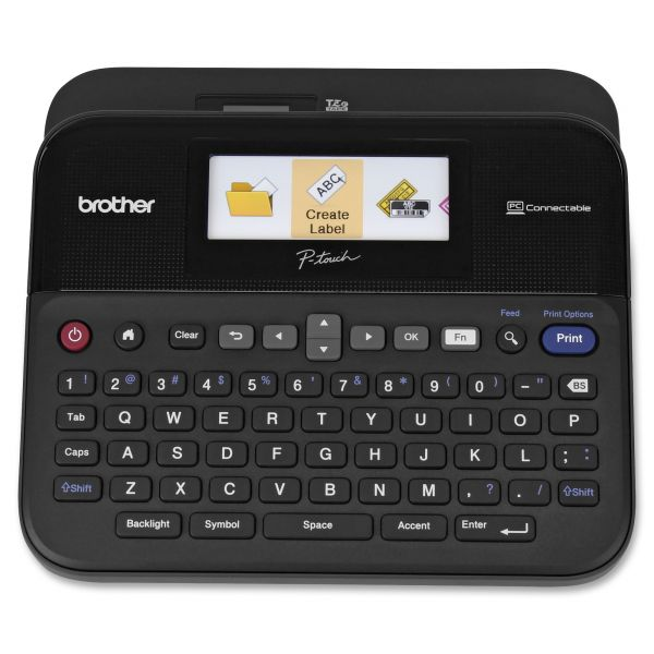 Brother P-Touch PT-D600 - Labelmaker - Thermal Transfer - Monochrome