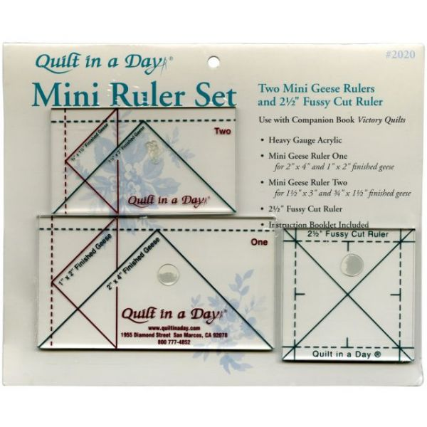 Quilt In A Day Ruler Set