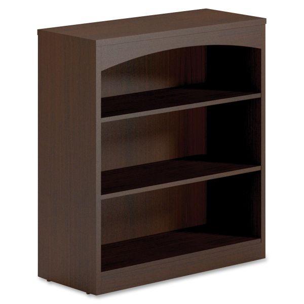 Mayline Brighton BTB3S36 3-Shelf Bookcase