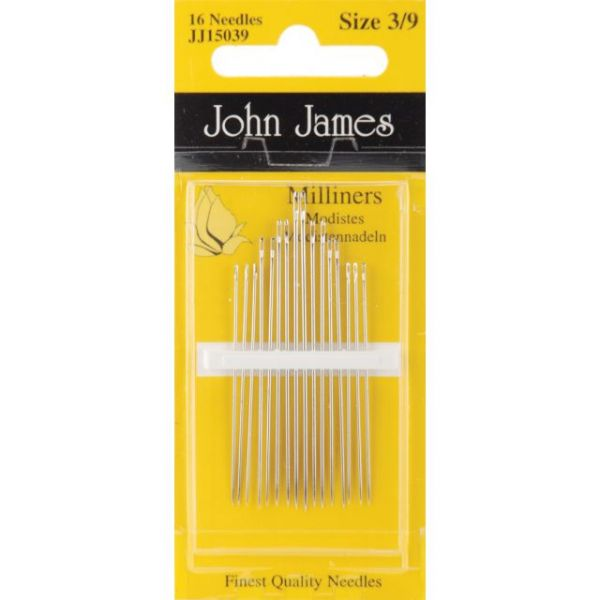 John James Milliners Hand Needles