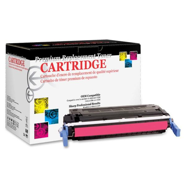 West Point Products Remanufactured HP C9723A Magenta Toner Cartridge