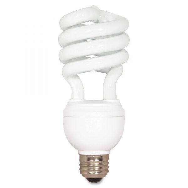 Satco 12/20/26 Watt 3-Way T4 Spiral CFL Bulb