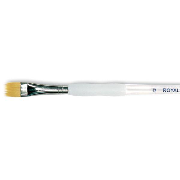 Soft-Grip Golden Taklon Comb Brush