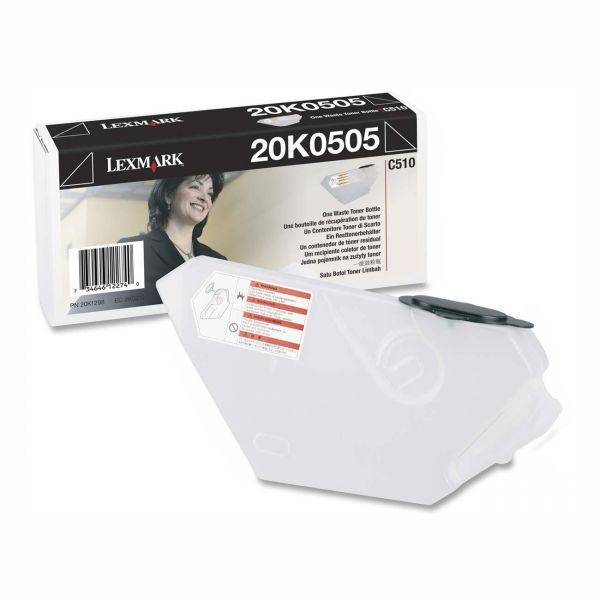 Lexmark Waste Toner Bottle for C510 Series Color Laser Printers, 12K Page Yield