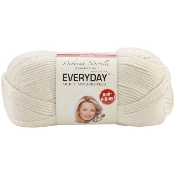Deborah Norville Collection Everyday Yarn - Cream