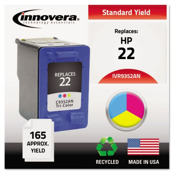 Innovera Remanufactured HP 22 Ink Cartridge