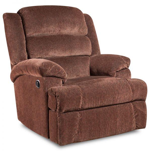 Flash Furniture Big and Tall 350 lb. Capacity Aynsley Claret Microfiber Recliner