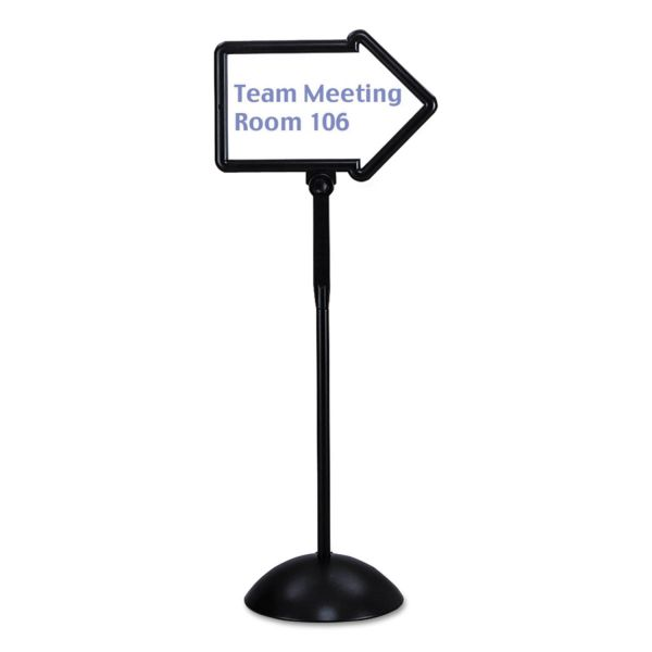Safco WriteWay Directional Dry-Erase Sign
