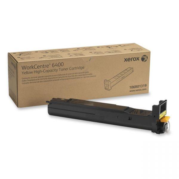 Xerox 106R01319 Yellow High Yield Toner Cartridge