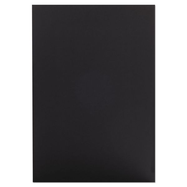 Elmer's CFC-Free Polystyrene Foam Board, 20 x 30, Black Surface and Core, 10/Carton
