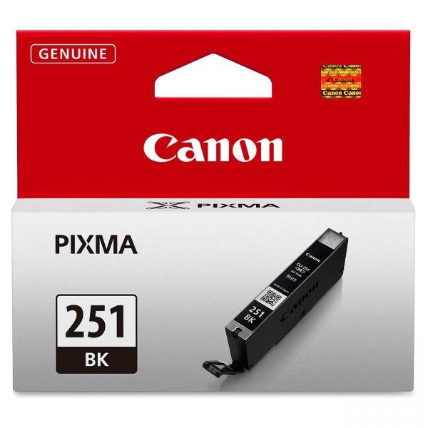 Canon CLI-251BK Black Ink Cartridge (6513B001)