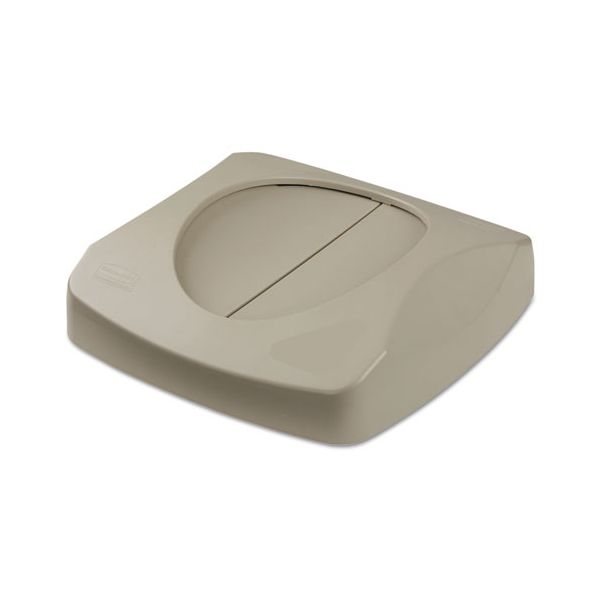 Rubbermaid Commercial Untouchable Square Swing Top Lid