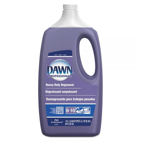 Dawn Professional Heavy-Duty Degreaser, Pine Scent, 2qt Bottle, 5 Bottles/Carton