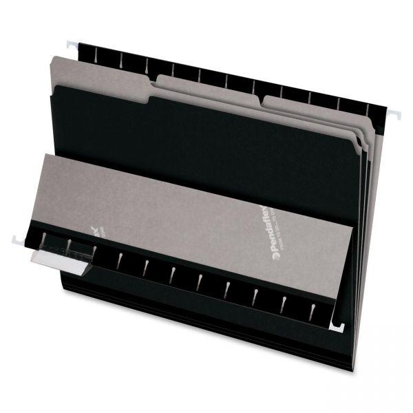 Pendaflex Black Colored File Folders