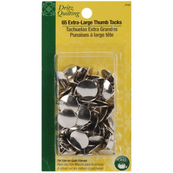 Dritz Quilting Extra Large Thumb Tacks