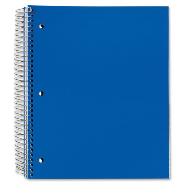 TOPS 5-Subject Poly Spiral Notebook