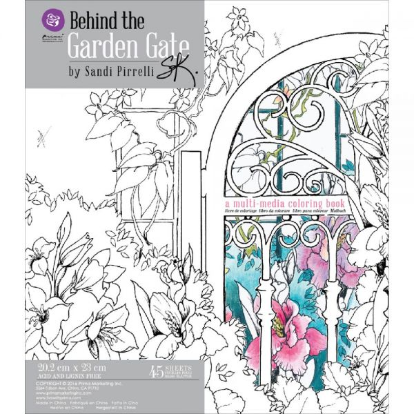 Prima Marketing Coloring Book