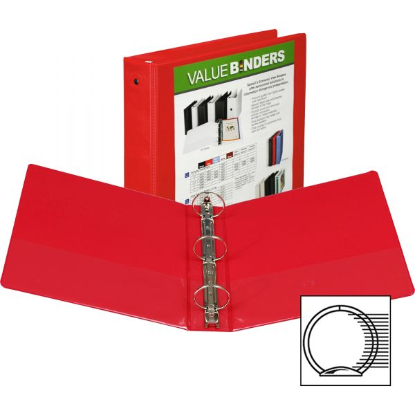 "Samsill Economy 2"" 3-Ring View Binder"