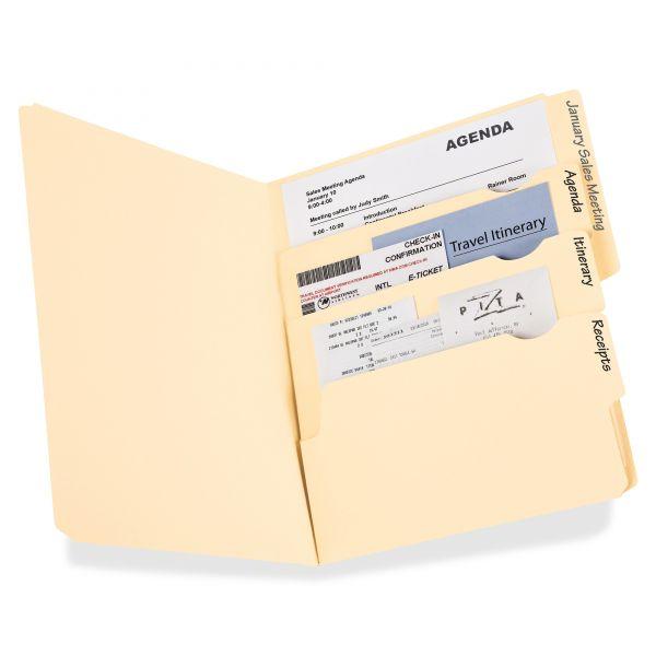 Pendaflex Divide-It-Up Manila File Folders
