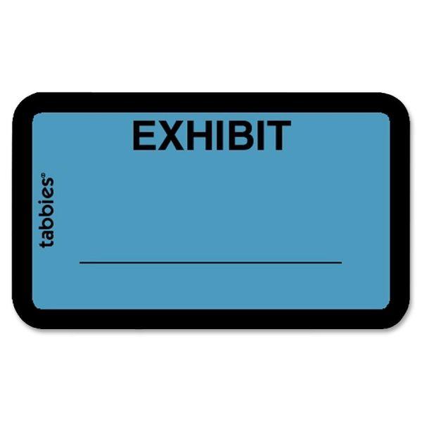 Tabbies Exhibit Legal File Labels