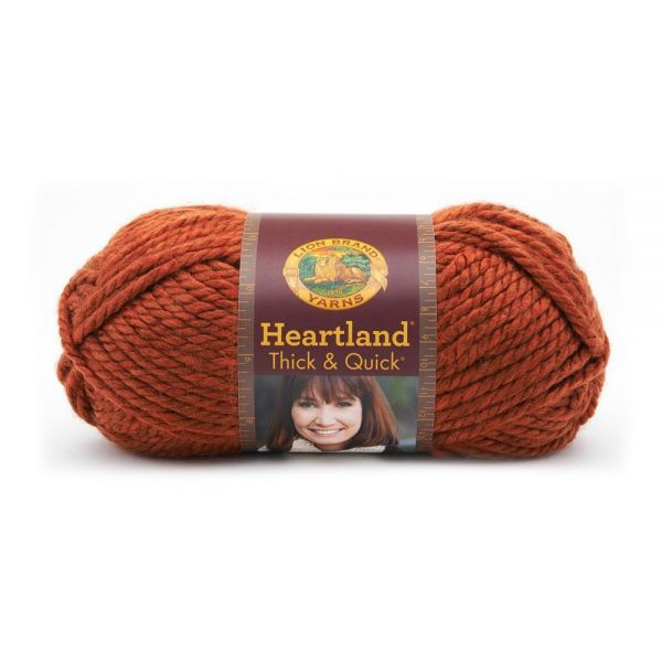 Lion Brand Heartland Thick & Quick Yarn