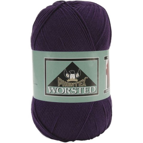 Phentex Worsted Yarn - Purple