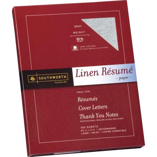 Southworth Fine Linen Resume Paper