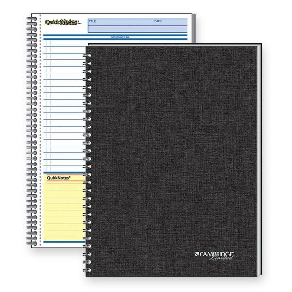 Cambridge QuickNotes 1-Subject Notebook