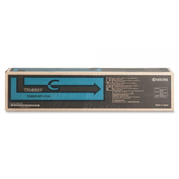 Kyocera TK-8307C Original Toner Cartridge - Cyan