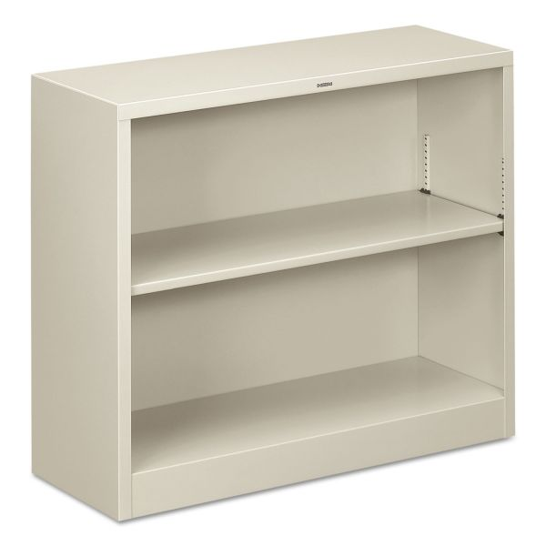 HON Brigade 2-Shelf Steel Bookcase