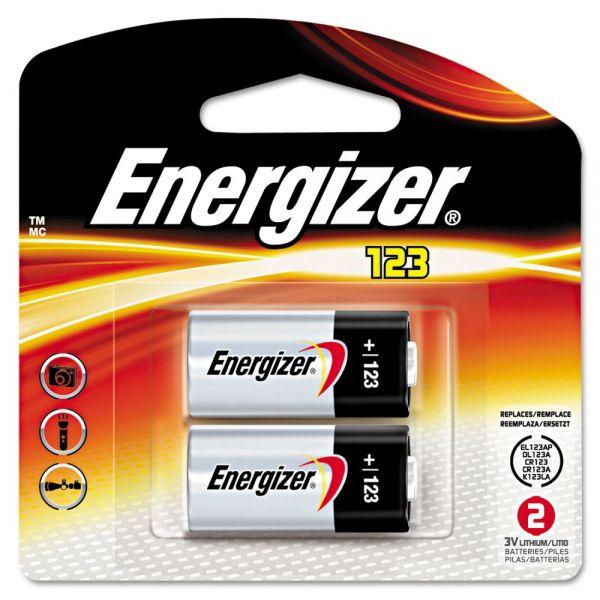 Energizer 123 e2 Lithium Batteries