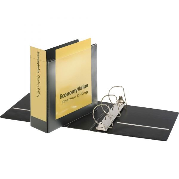 """Cardinal EconomyValue 4"""" 3-Ring View Binder"""
