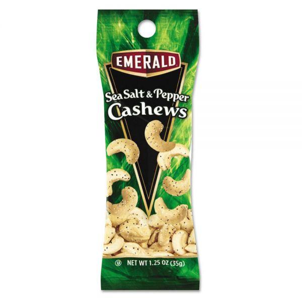 Emerald Sea Salt & Pepper Cashews
