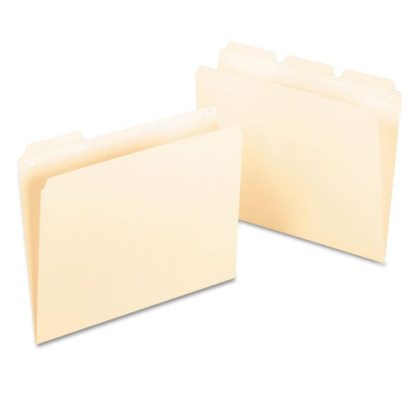 Pendaflex ReadyTab Manila File Folders