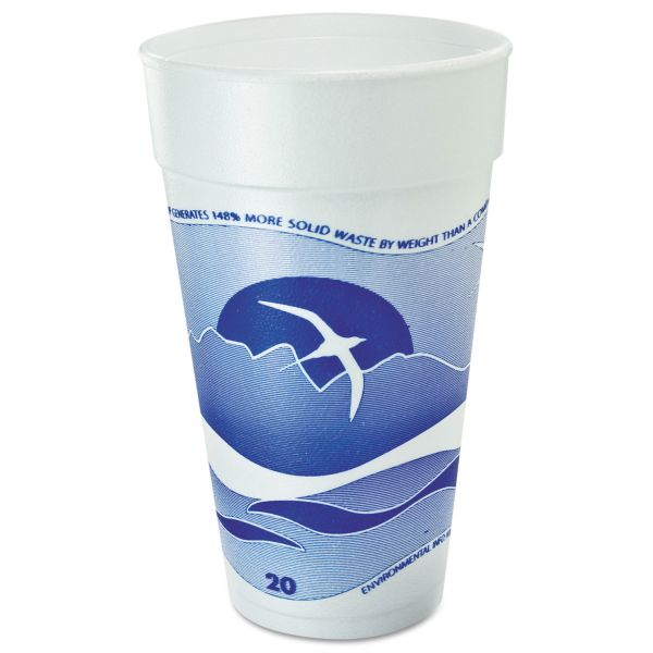 Dart Horizon 20 oz Foam Cups