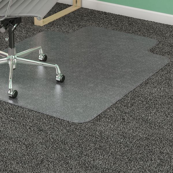 Lorell Diamond Anti-Static Medium Pile Chair Mat