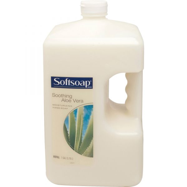 Softsoap Liquid Hand Soap Refill with Aloe, 1 gal Refill Bottle