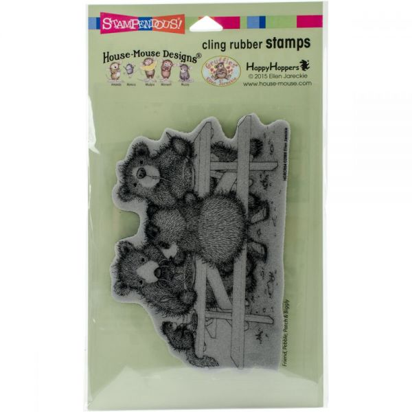 """Stampendous House Mouse Cling Stamp 7.75""""X4.5"""""""