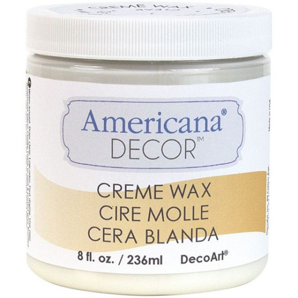 Americana Decor Creme Wax 8oz