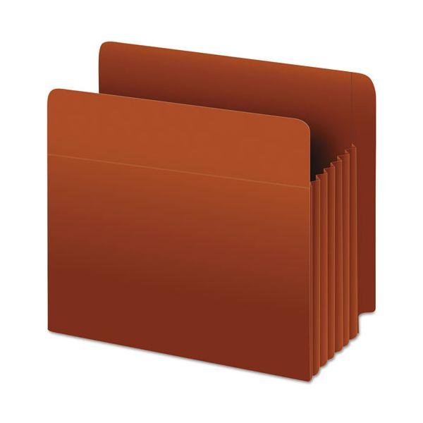 Pendaflex Heavy-Duty End Tab File Pockets, Straight Cut, 1 Pocket, Letter, Brown