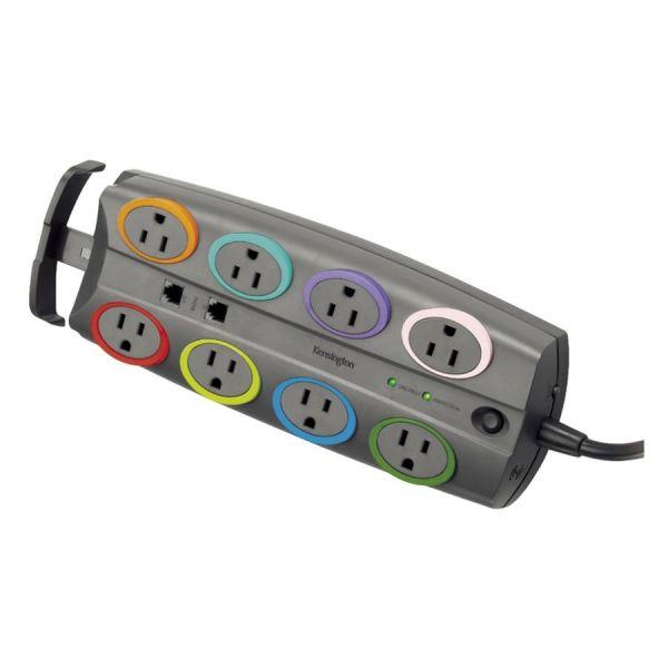 Kensington SmartSockets Standard 62690 8-Outlets Surge Suppressor