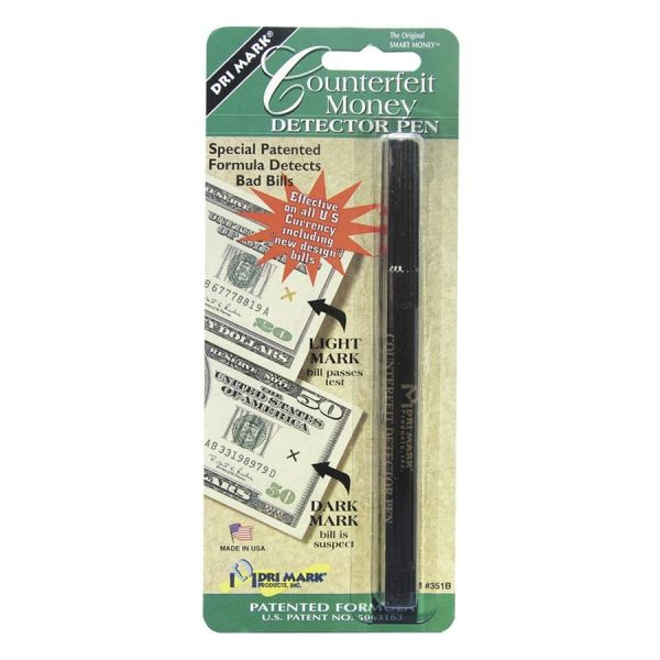 Dri Mark U.S. Counterfeit Money Detector Pen