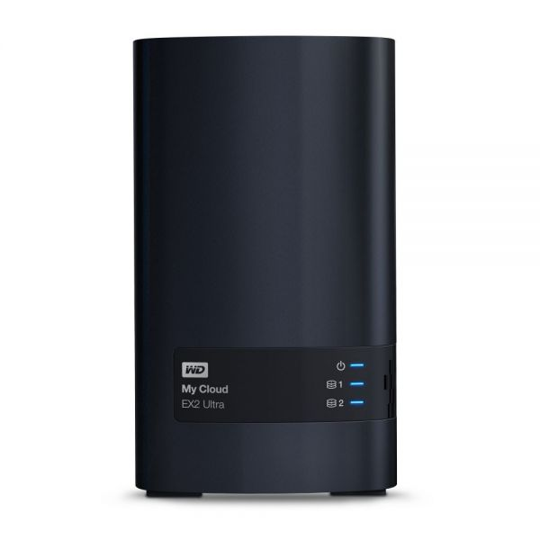 WDBVBZ0160JCH-NESN WD 16TB My Cloud EX2 Ultra Network Attached Storage - NAS - WDBVBZ0160JCH-NESN