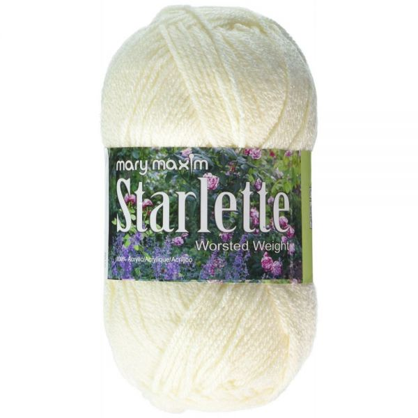 Mary Maxim Starlette Yarn - Natural