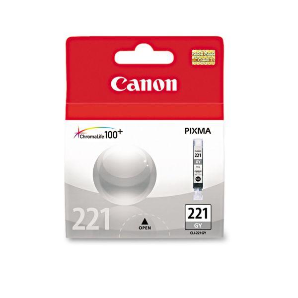 Canon CLI-221GY Gray Ink Cartridge (2950B001)