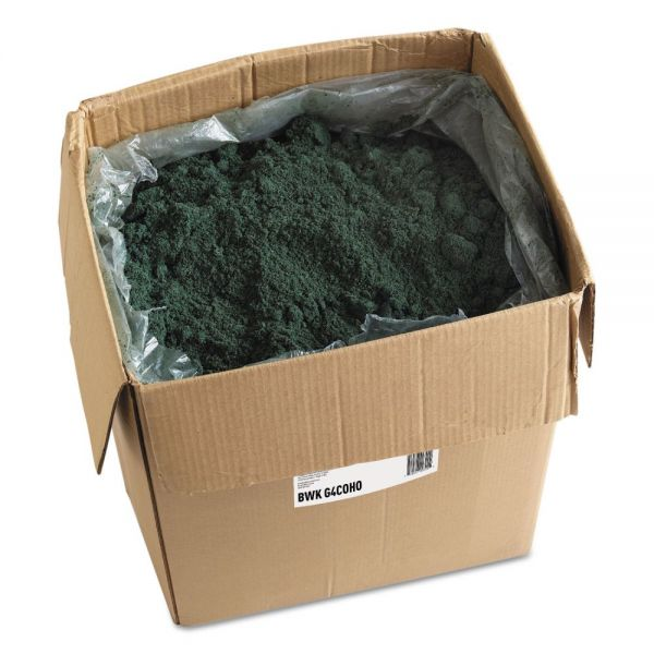 Boardwalk Oil-Based Sweeping Compound, Green Softwood, Grit-Free, 100lb Box