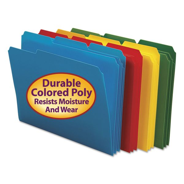 Smead Colored Poly File Folders