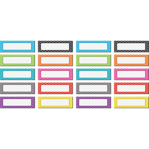 Teacher Created Resources Magnetic Chevron Labels