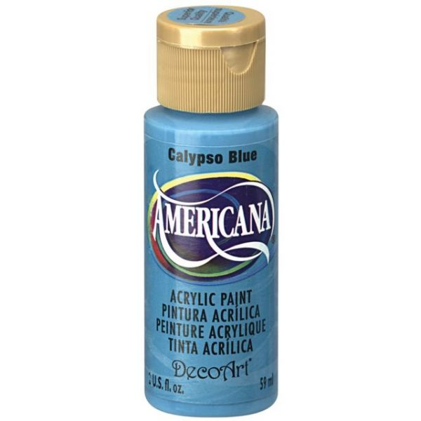 Deco Art Calypso Blue Americana Acrylic Paint